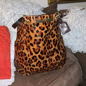 Brand New Tory Burch Cheetah Leather Tote !